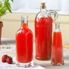 Strawberry-Basil Vinegar
