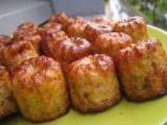 Recette Apéritif : Bouchées apéritives Dukan au thon et à la moutarde à l'ancienne (PP,PL,...) par Djoul'ail et merveilles