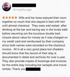 Angry Husband's Hotel Review
