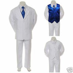 white tux with royal blue vest and tie | T2eC16ZHJGkE9no8iMDRBRYiCRFig!~~60_35.JPG