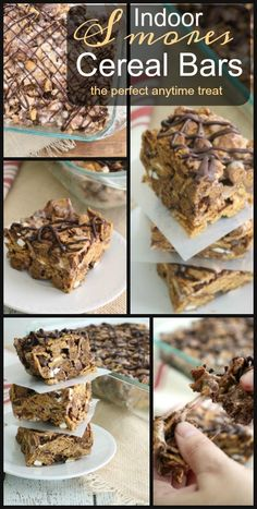 ... love these treats- Indoor S'mores Cereal Bars. Make them today!! #ad