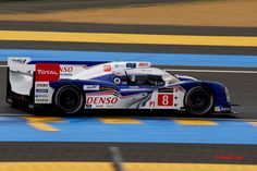 2013 Toyota TS030 Hybrid  Toyota (3.400 cc.) (A)  Anthony Davidson  Sébastien Buemi  Stéphane Sarrazin