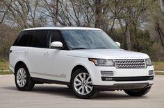 2016 Range Rover Sport White