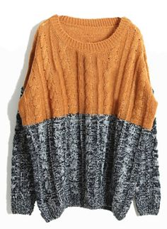 626d92b7e303 SheIn offers Gold Grey Long Sleeve Embroidery Sweater   more to fit your  fashionable needs.