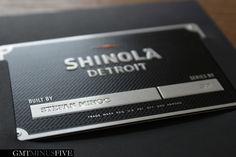 Shinola Runwell ID Card