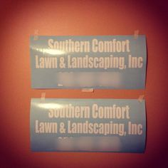 Thanks Southern Comfort For Your Tailgate Vinyl Decal Order - Custom vinyl decals madison wi