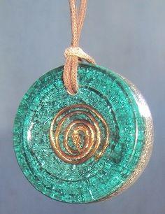 Orgonite tradicional na cor azul. R$ 40,00 - . Pedidos: patborges2000@yahoo.com.br