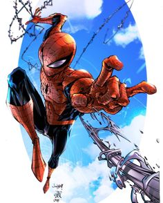Its a beautiful day to be Spider-Man  By KCSpaghetti on @deviantart…