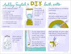 DIY Bath Salts Wedding Project