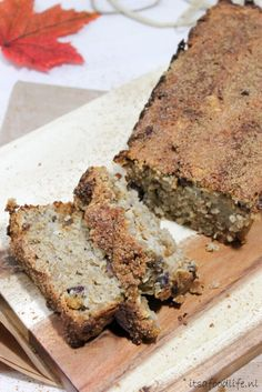 Recept voor gezonde suikervrij appel speculaascake | It's a Food Life