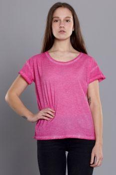 Cheap Monday Lina Cold Dye Tee Spray Pink