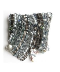 Silverfish cuff bracelet