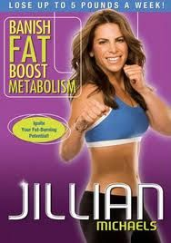 Jillian Michaels Banish Fat Boost Metabolism workout DVD is an excellent cardio workout at home and best of all, no equipment needed. Just hit play and go!