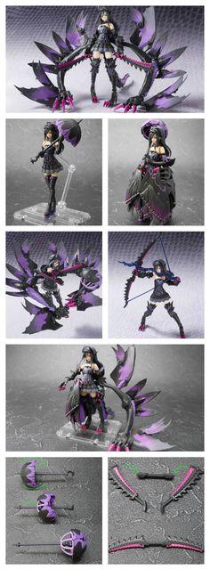 Figurine Princess Gore Magala Monster Hunter http://www.geekilaz.com/figurine-princess-gore-magala/