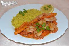Baby Carrots, Chicken, Meat, Food, Eten, Meals, Cubs, Kai, Diet