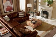 ethan allen sectional sofa design ideas for living room 5 Living Room Shop, Home Living Room, Living Room Decor, Cozy Living, Family Room Furniture, Living Room Furniture, Nice Furniture, Furniture Layout, Furniture Arrangement
