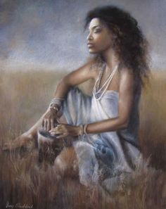 Black Women Art! — 'African Drum' by Anny Maddock