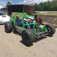 The Lot Lizard at the Traque Mate Skidpad challenge