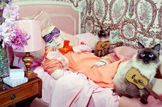 Morning Beauty | Siri Tollerod by Miles Aldridge