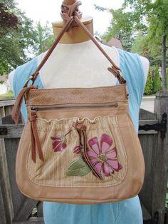 tan purse pouch