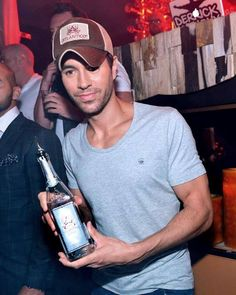 Enrique Iglesias Hosts Mexican Independence Day Celebration At Hyde Bellagio In Las Vegas, Nevada on September 14, 2013.