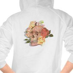 Trendy Sugar Skull Roses Goth Day of the Dead Tshirt