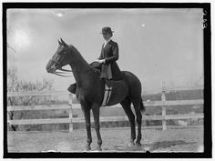 Sidesaddle. The only way to ride!