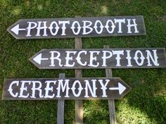 Country Wedding Signs Cowgirl Wedding Your Own by TRUECONNECTION, $120.00