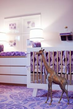 lavender loveliness (just don't think a big metal giraffe would be safe)