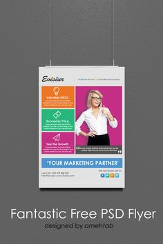 Download Multi Purpose Flyer Template PSD , Free
