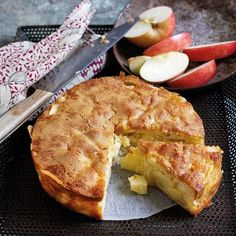 Apple Cake recipe. For the full recipe, click the picture or visit http://RedOnline.co.uk