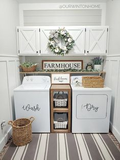 Below are the Farmhouse Laundry Room Storage Decoration Ideas. This post about Farmhouse Laundry Room Storage Decoration Ideas was posted … Room Makeover, Room Renovation, Farmhouse Decor, Room Remodeling, Room Organization, Dream Laundry Room, Farmhouse Fall Decor, Room Diy
