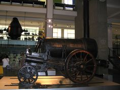 Stephenson's Rocket was an early steam locomotive of 0-2-2 wheel arrangement, built in Newcastle Upon Tyne at the Forth Street Works of Robert Stephenson and Company in 1829.
