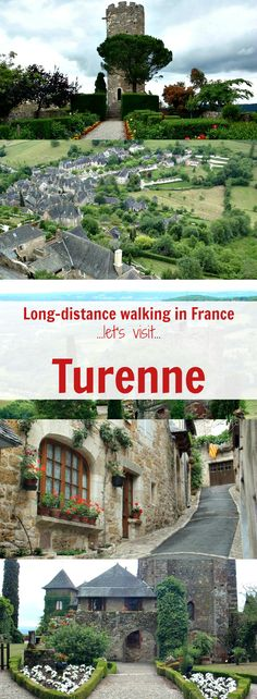 Day 1 of a long-distance walk from Martel to Rocamadour in France brings you to the 'most beautiful village' of Turenne. Let's explore - and learn where to stay, what to see (visit the ruins of the medieval château) plus practical tips for planning the perfect itinerary! #walkingholidaysinfrance