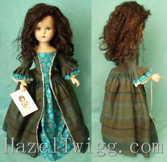 Vintage composition Arranbee doll is Claire, inspired by the Outlander series. Up for adoption now!