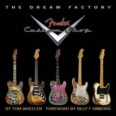 Fender The Dream Factory: The Fender Custom Shop Fender Custom Shop, Custom Guitars, Guitar Tips, Guitar Lessons, Piano Lessons, Billy F Gibbons, Best Guitar Players, Music Guitar, Guitar Wall