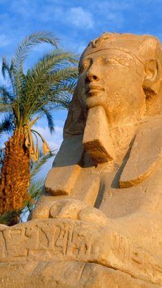 Avenue of Sphinxes, Karnak, Egypt