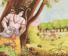 Story of Sugriva Vali and Rama-http://www.hindudevotionalblog.com/2014/06/story-of-sugriva-vali-and-rama.html