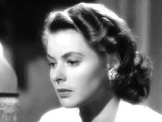 """The scene in """"Casablanca"""" when Rick walks in on Sam playing """"As Time Goes By"""" and catches Ilsa teary-eyed...always gets me right here. :("""