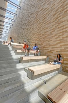 Spring Middle School already Dake Wells Architektur – scho … – Chair Ideas Staircase Architecture, Library Architecture, Cultural Architecture, Education Architecture, Concept Architecture, School Architecture, Staircase Design, Architecture Design, Staircase Ideas
