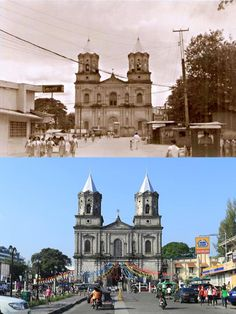 Holy Rosary Parish Church, Present Day, Manila, Old Photos, Barcelona Cathedral, Philippines, Old Things, Forced Labor, House Styles