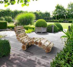 Créez votre propre fauteuil en bois et utilisez-le comme chaise longue dans le jardin ! - Conseils & astuces bricolage - Pour les makers