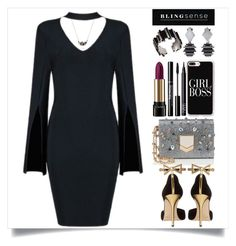 """blingsense"" by itsybitsy62 ❤ liked on Polyvore featuring Casetify, Jimmy Choo, Oscar de la Renta, Lancôme, NARS Cosmetics, jewelry and blingsense"