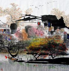 Liu Maoshan (b1942, native of Suzhou, Jiangsu Province, China)