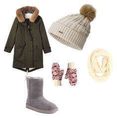 """Winter opinions"" by brooklyne200 on Polyvore featuring Toast, SOREL, Paula Bianco and Koolaburra"