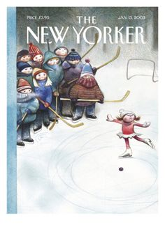 The New Yorker Cover - January 13, 2003 Giclee Print by Carter Goodrich at Art.com