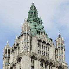 Woolworth Building, by Cass Gilbert, NYC
