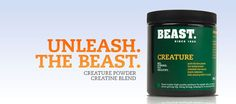 Creature® is a blend of four top quality types of Creatine. Best Creatine, Four Tops, Health Research, Creatures, Nutrition, Fitness