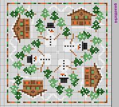gazette94: biscornu Colors: 434,912, 986, 436 721, blanc, 310