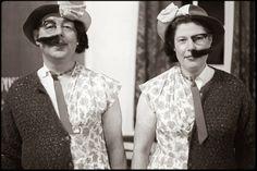 "Mervyn and Ethel Turner as ""Half-and-Half"", Village Hall, Dolton, November 1972."